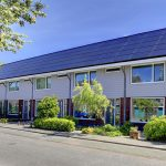 solar panels fitted to houses