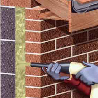 free cavity wall insulation being installed in essex